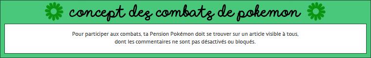 Les combats de Pokémon