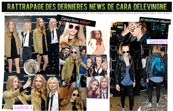 RATTRAPAGE DE NEWS.