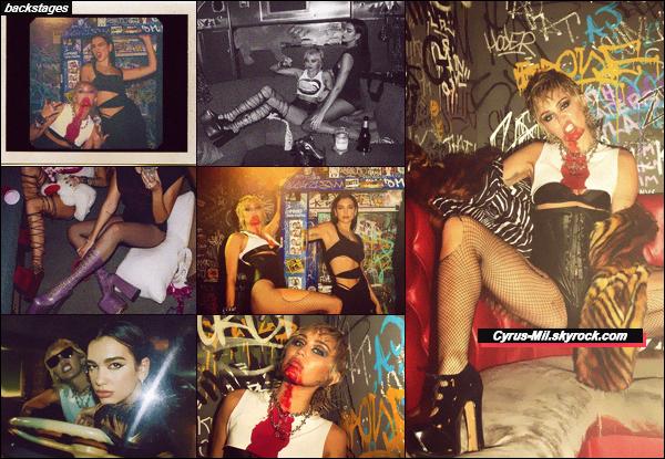 - PROMO ✪ Découvre les photos promotionnelles de PRISONER by Miley ft. Dua Lipa.  -