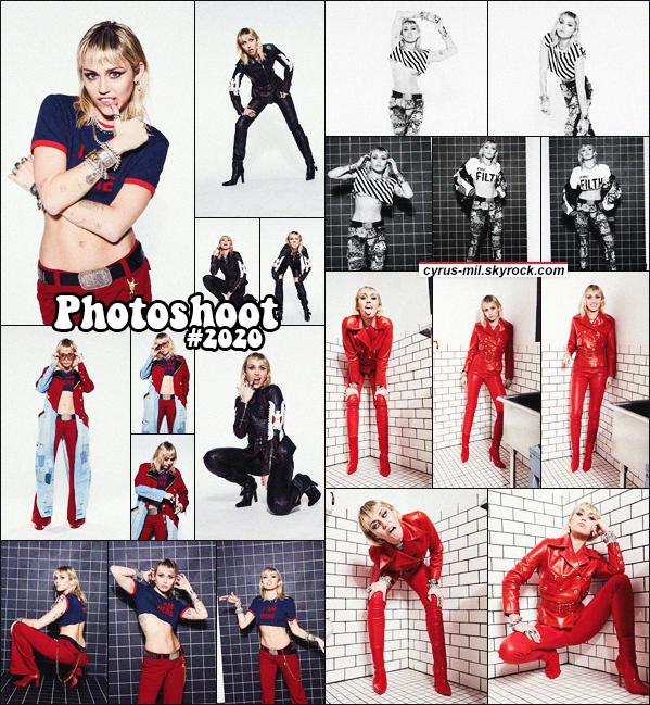 - PHOTOSHOOT ✪ Voici le shooting de Miley pour SHE IS HERE de Décembre 2020.  -