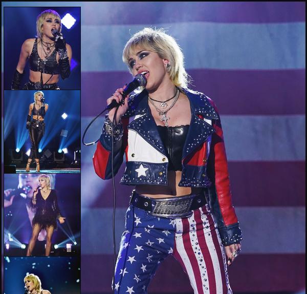 - 31.12.20 ✪ Miley a participé au DICK CLARK'S NEW YEAR'S ROCKIN EVE en performant.  -