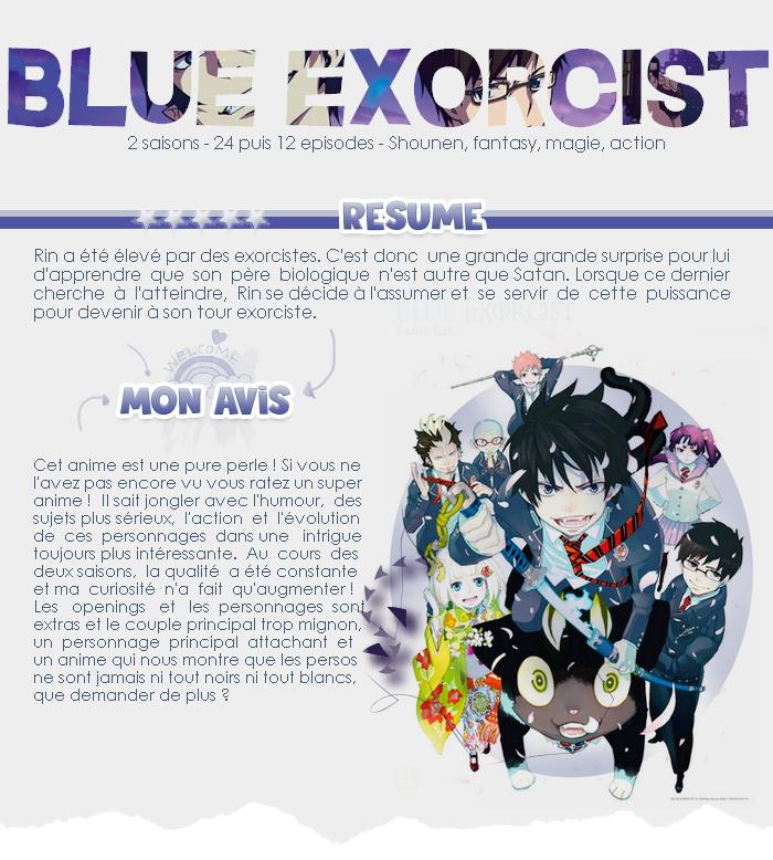 Blue exorcist.