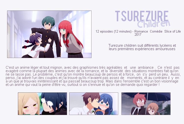Tsurezure Children.