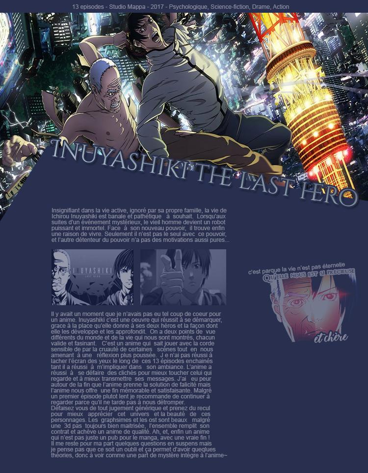 Inuyashiki.