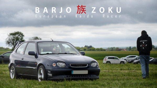 #barjozoku petit à petit, on envahi les réseaux sociaux et les routes de différents continents :D