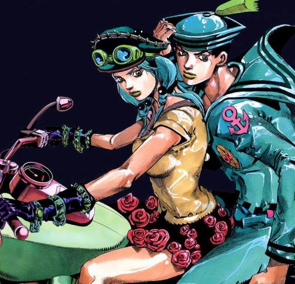 Yasuho et Josuke