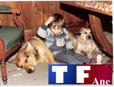 TF Ane quand il avait à peine 5 ans
