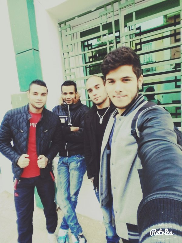 With friends :)