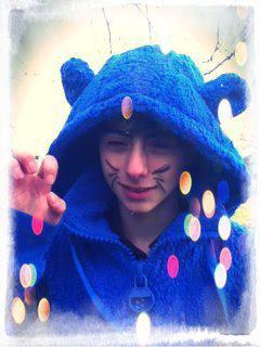moi en ourse bleu :-)