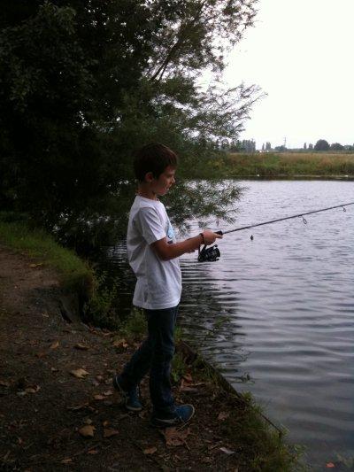 session pêche eau douce 30/07