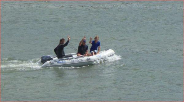 Bretagne-Fouesnant Juillet 2012 : En action de pêche