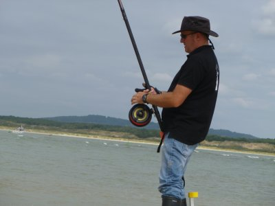 Quelques instants de pêche..