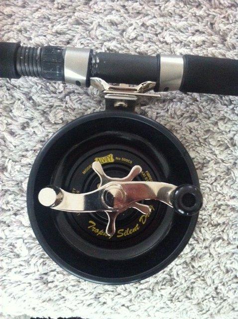 "Alvey 500C5 & canne ""rod 605 special kayak """