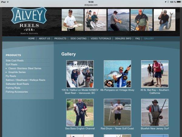 Un frenchy sur le site Alvey USA