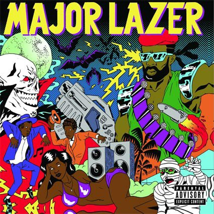 Major Lazer - Mary Jane (2013)