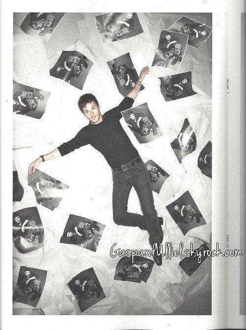 Gaspard Ulliel - Visions of the Present Chanel Fall/Winter 2012/2013 look book The Little Black Jacket: by Karl Lagerfeld
