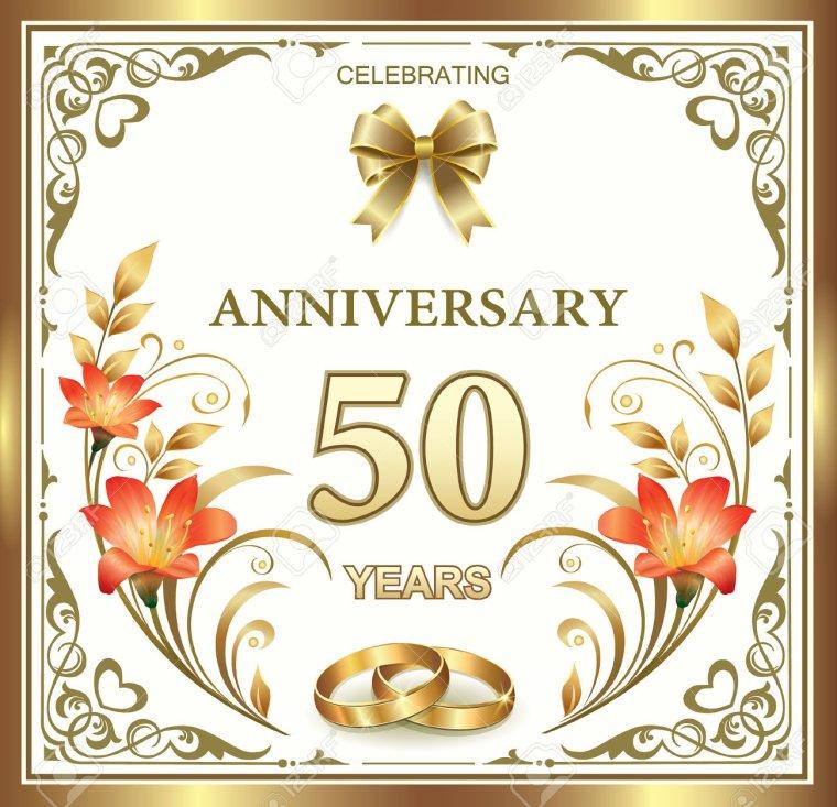 joyeux anniversaire pour vos 50 ans de mariage je vous souhaite encore beaucoup d 39 ann es de. Black Bedroom Furniture Sets. Home Design Ideas