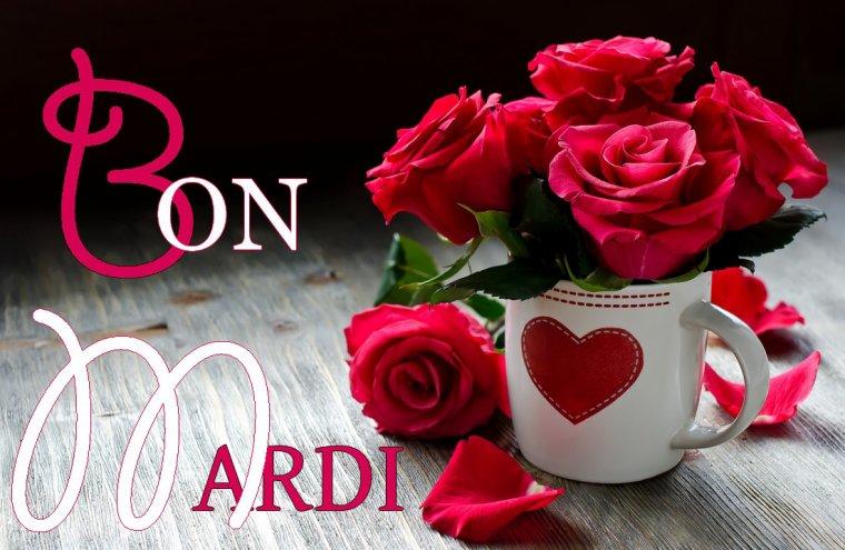 Bonjour d j mardi je souhaite tous mes amis e s une - Flower wallpaper dp ...