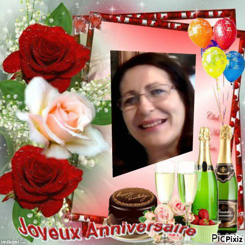 Joyeux Anniversaire Marion ... un an de plus ça se fête, .. je te souhaite beaucoup de joie, et de bonheur ... Mille bisous du (l)  ton amie Josie