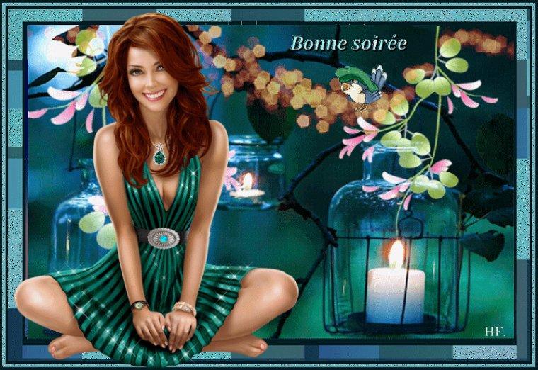 bonsoir à tous mes amis(e)s ..je vous souhaite une très bonne soirée ,et une nuit douce et paisible ... bisous Josie