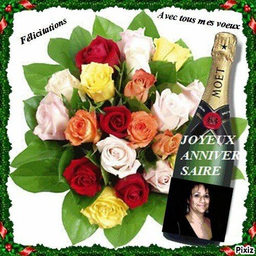 Joyeux Anniversaire Ginou  .. je te souhaite beaucoup de joie et de bonheur .... mille bisous du (l) Josie
