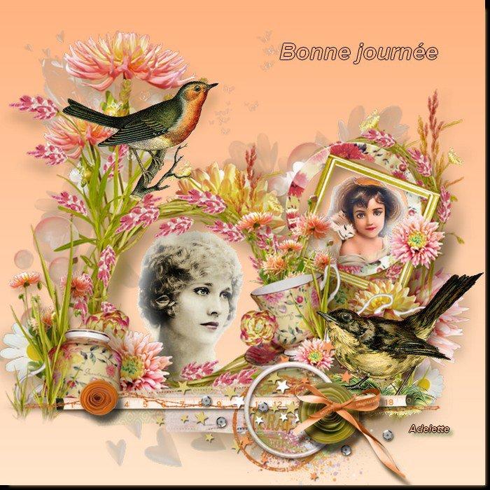 bonjour à tous mes amis(e)s .. je vous souhaite une belle journée de dimanche ensoleillée .. bisous Josie