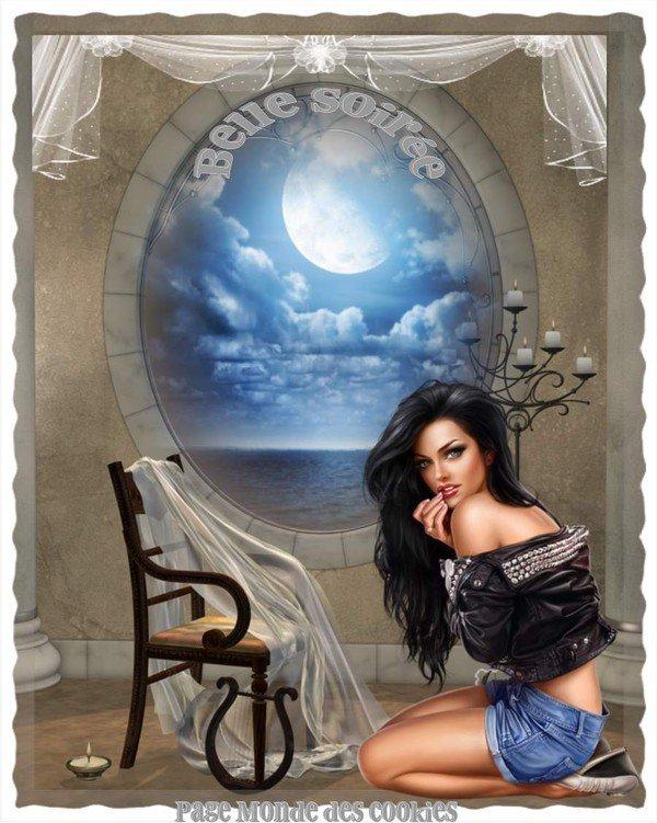 bonsoir à tous mes amis(e)s ..je vous souhaite une bonne soirée , une douce et agréable nuit ... bisous Josie