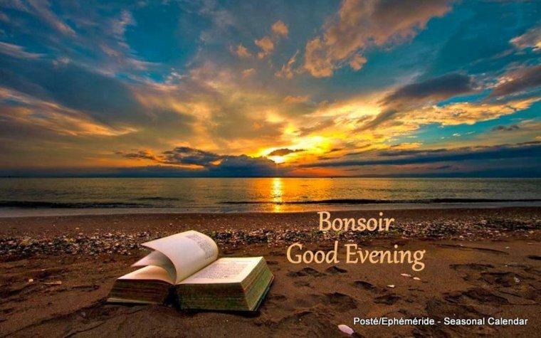 bonsoir à tous mes amis(e)s ..je vous souhaite unetrès bonne soirée , une douce et agréable nuit ... bisous Josie