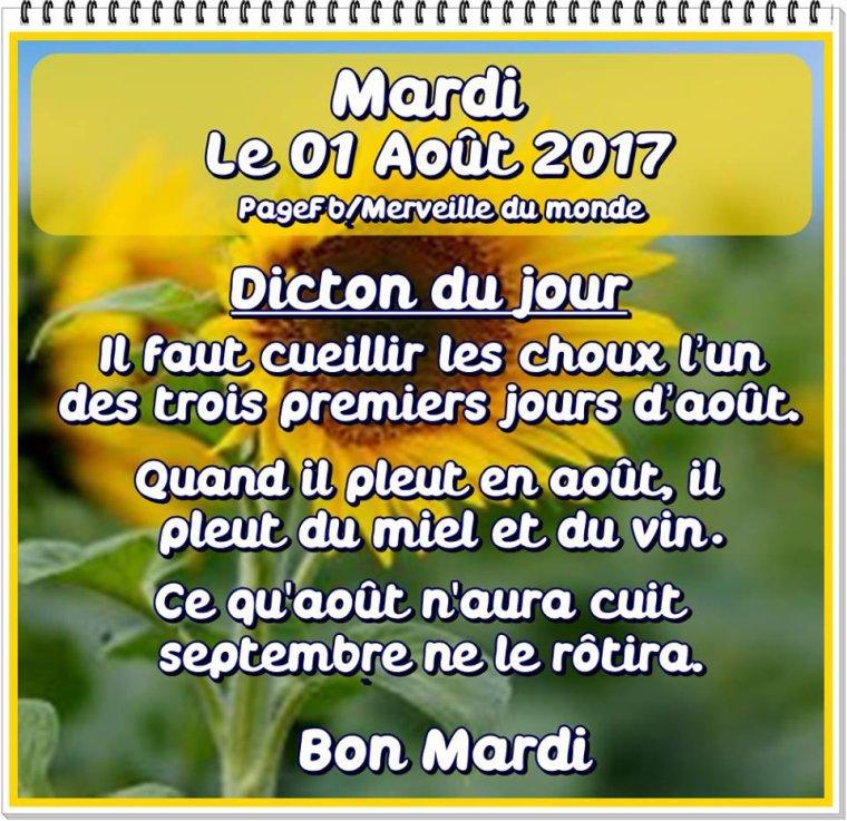 bonjour mes amis(e)s.. je vous souhaite un excellent appétit .. et un agréable après midi du mardi 1er Aôut, avec une température caniculaire !!!! .. bisous Josie