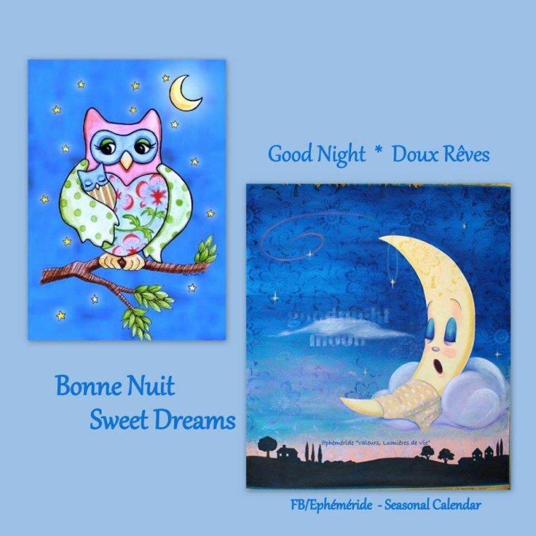 bonsoir à tous mes amis(es) .. je vous souhaite une belle soirée, et une douce nuit bercée de rêves tendres .. bisous Josie
