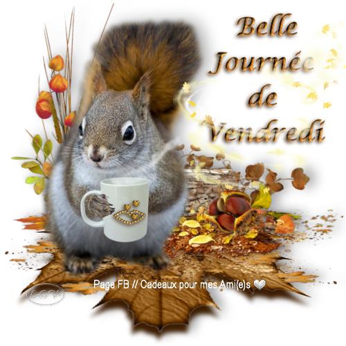 bonjour à tous mes amis(es) .. je vous souhaite une très bonne journée de vendredi, et un excellent début de week-end.. bisous Josie