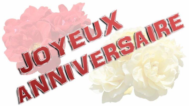 Joyeux Anniversaire Sylvie ... je te souhaite beaucoup de bonheur ... un an de plus ça se fête, profite bien de cette journée .. Mille bisous du (l) Josie