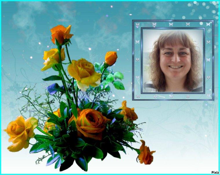 Cadeau pour mon amie Sylvie .... Bisous Josie