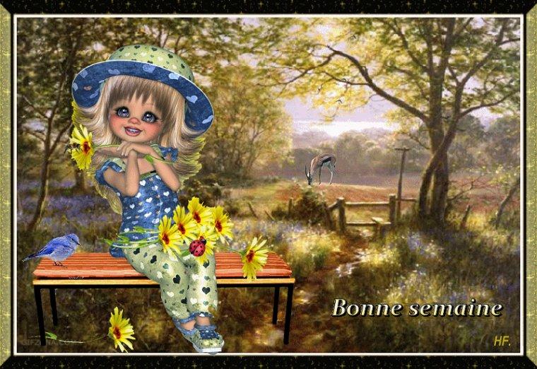 bonjour à tous mes amis(es) ... je vous souhaite une belle journée de lundi, et un excellent début de semaine ... bisous Josie