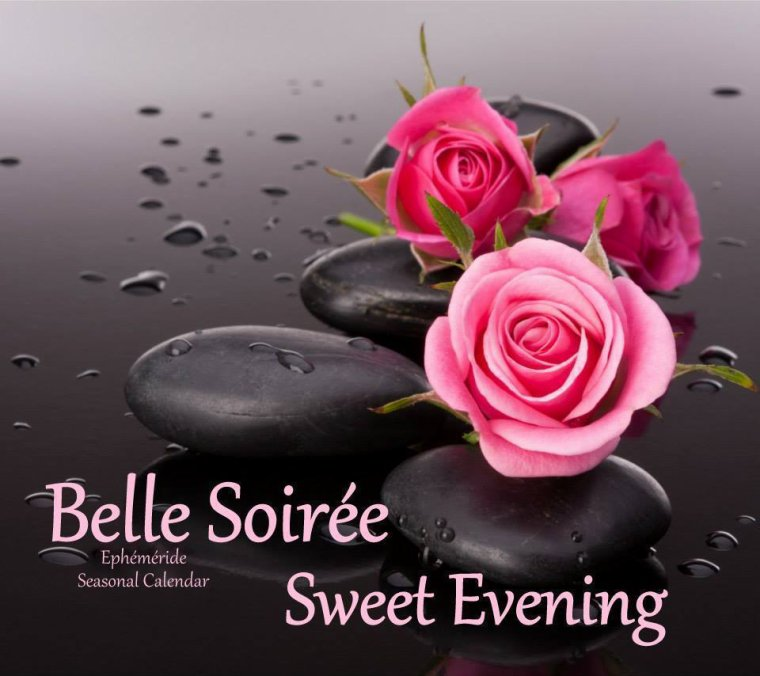 bonsoir à tous mes amis (es) .. je vous souhaite une belle soirée, une nuit douce et agréable.. bisous Josie