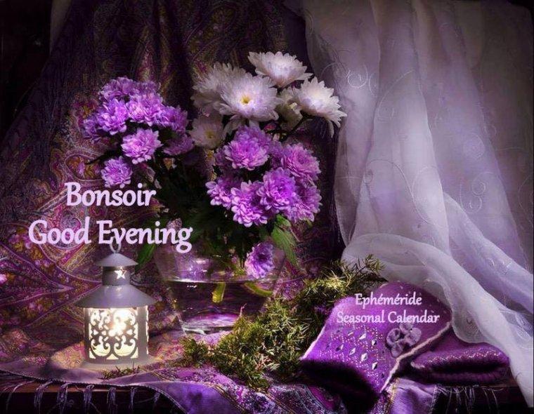 bonsoir à tous mes amis (es) .. je vous souhaite une belle soirée, une nuit douce et agréable .. bisous Josie