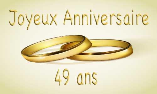 Félicitations Jacotte & Chris pour vos 49 ans de mariage... que ça dure encore longtemps ....