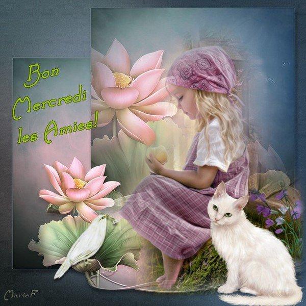 bonjour à tous mes amis(es) ... je vous souhaite une très bonne journée de mercredi ... bisous Josie