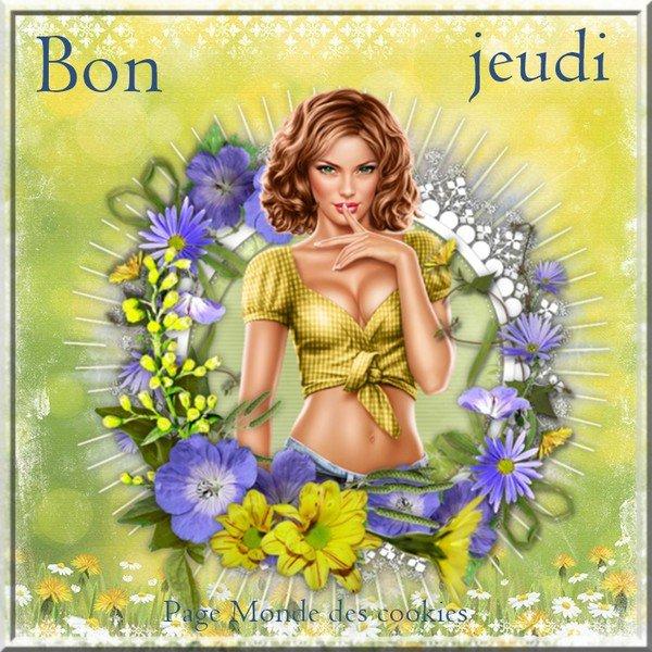 bonjour à tous mes amis(es) ... je vous souhaite une très bonne journée de jeudi ... bisous Josie