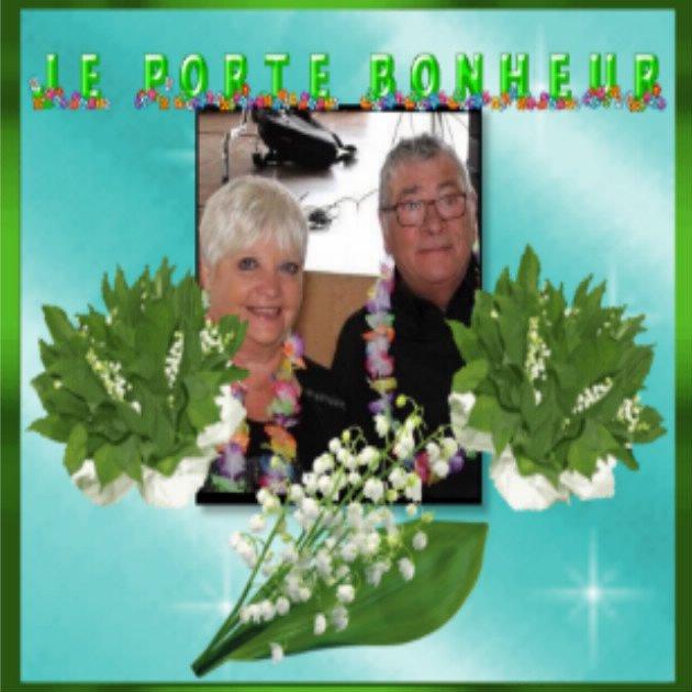 Josy & Pépère, que ces quelques brins de muguet vous apportent de la joie et du bonheur ... Bisous du (l) Josie
