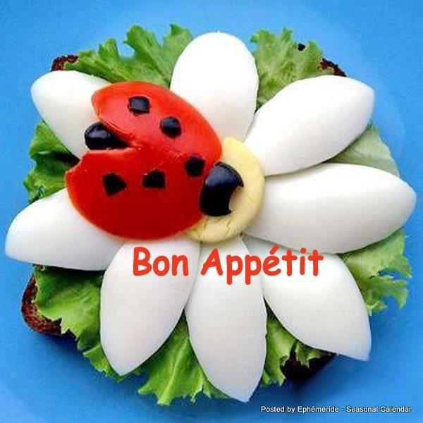 bonjour mes amis(es) .. je vous souhaite un excellent appétit, et un bon après midi de vendredi, ici c'est de nouveau un temps pluvieux .. bisous Josie