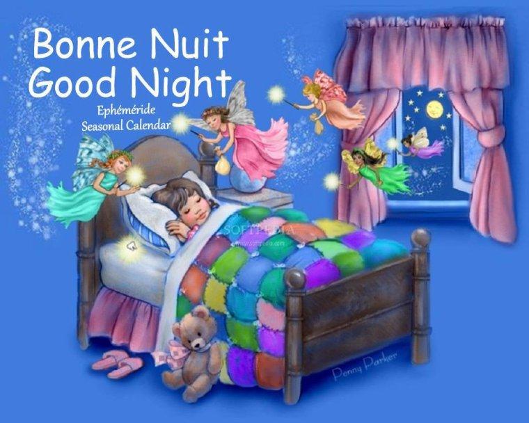 Bonsoir mes amis(es), je viens vous souhaiter une très bonne soirée, et une belle nuit remplie de rêves étoilés ... bisous Josie