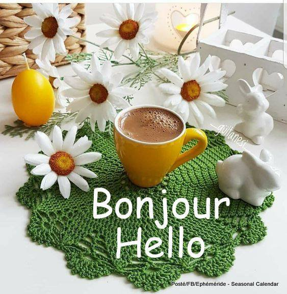 Bonjour mes amis(es) je vous souhaite un bon vendredi et un bon début de week-end ... Gros bisous Josie