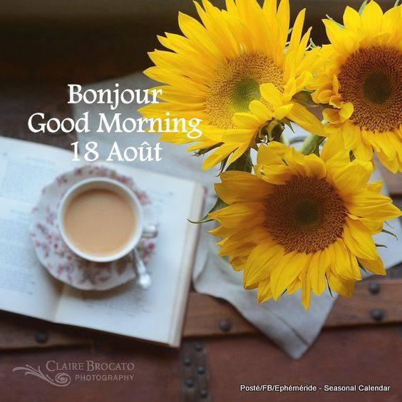 Bonjour mes amis(es) je vous souhaite une belle journée de samedi,et un bon week-end ensoleillé ... Gros bisous Josie