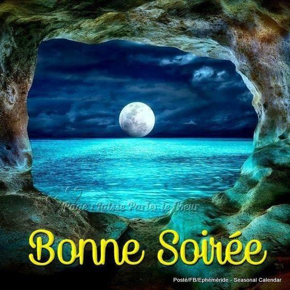 Bonne Soirée à Vous Tous Mes Amises Et Une Belle Nuit