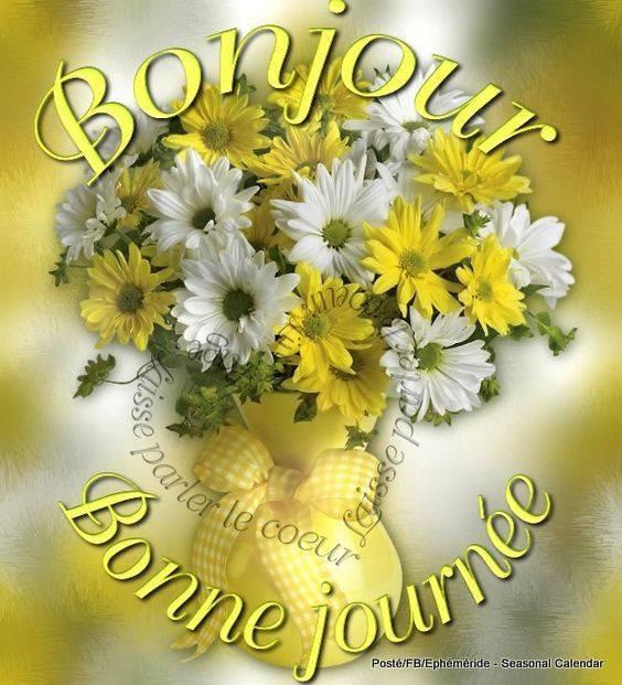 Bonjour mes amis(es) bon samedi et excellent week-end, ici soleil ...