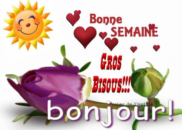 Bonjour mes amis(es) bon lundi et excellente semaine à tous ... Gros bisous Josie