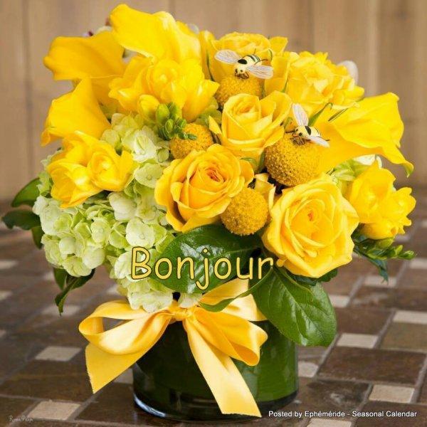 Bonjour mes amis(es) je vous souhaite une bonne journée de jeudi, ici c,est encore la pluie,,,,,, Gros bisous Josie