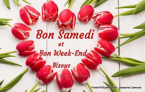 Bonjour mes amis(es) bon samedi et excellent week-end, ici c'est ...