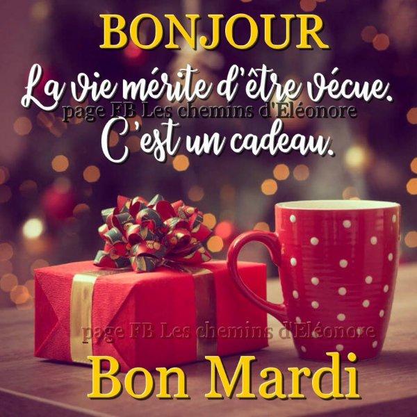Bonjour Mes Amis Es Bon Mardi Et Bonne Journée à Vous Tous